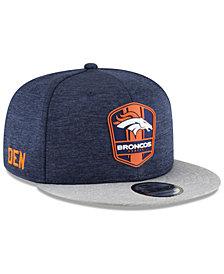 New Era Boys' Denver Broncos Sideline Road 9FIFTY Cap