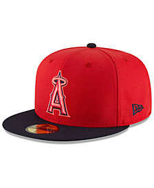 New Era Boys' Los Angeles Angels Players Weekend 59FIFTY FITTED Cap