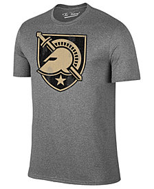 Retro Brand Men's Army Black Knights Alt Logo Dual Blend T-Shirt
