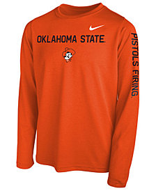 Nike Oklahoma State Cowboys Legend Long Sleeve T-Shirt, Big Boys (8-20)