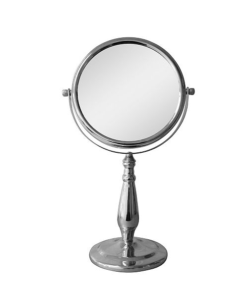 Elegant Home Fashions Freestanding Bath Magnifying Makeup Mirror