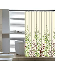 Leaf Vine Shower Curtain