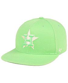 '47 Brand Houston Astros Island Snapback Cap