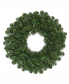"48"" Oregon Fir Artificial Christmas Wreath Unlit"