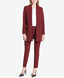 Calvin Klein Topper Jacket & Straight-Leg Pants