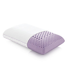 Z Zoned Lavender Mid Loft Pillows with Aromatherapy Spray Collection