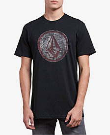 Volcom Men's Classic Stone Logo Graphic T-Shirt