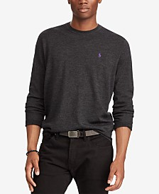 Polo Ralph Lauren Men's Merino Wool Crew-Neck Sweater