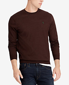 Polo Ralph Lauren Men's Merino Wool Crew-Neck Sweater