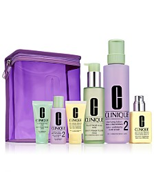 Clinique 7-Pc. Great Skin Home & Away For Drier Skin Set