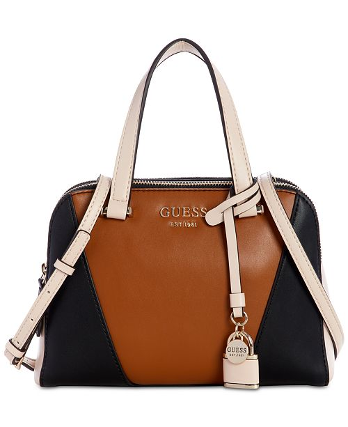 GUESS Shawna Cali Satchel   Reviews - Handbags   Accessories - Macy s cf6d09a21753a