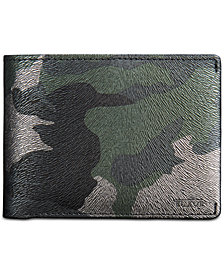 Tumi Men's Nassau Printed Leather Double Billfold