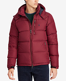 Polo Ralph Lauren Men's Water-Repellent Down Jacket, Created for Macy's