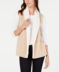 Tommy Hilfiger Sherpa Vest, Created for Macy's
