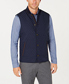 Tasso Elba Men's Renzo Quilted Vest, Created for Macy's