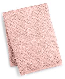 Juliette LaBlanc Cotton Zig-Zag Textured Bath Towel