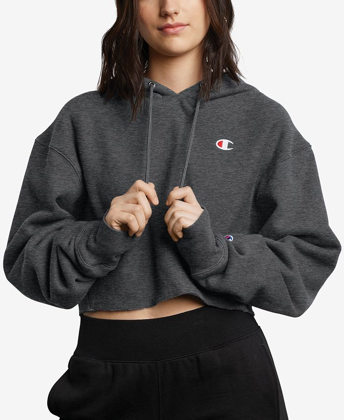 Champion - Reverse Weave Cropped Hoodie