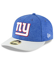 New Era New York Giants On Field Low Profile Sideline Home 59FIFTY FITTED Cap