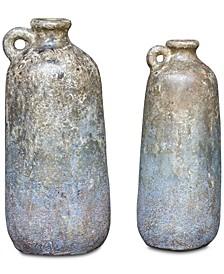 Ragini Terracotta Bottles Set of 2
