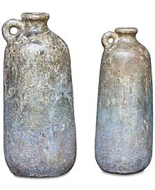 Uttermost Ragini Terracotta Bottles Set of 2
