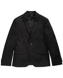 폴로 랄프로렌 보이즈 자켓 Lauren Ralph Lauren Big Boys Windowpane Jacket,Black