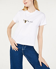 PROJECT 28 NYC Cotton Bee-Graphic T-Shirt