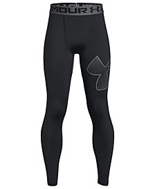 Under Armour Big Boys Armour-Logo Leggings
