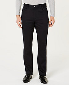 Ryan Seacrest Distinction™ Men's Cross Hatch Pants, Created for Macy's