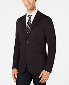 Ryan Seacrest Distinction™ Men's Plaid Performance Sport Coat, Created for Macy's