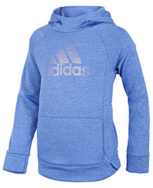 adidas Big Girls Push It Logo-Print Hoodie