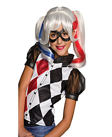 DC Superhero Girls: Harley Quinn Girls Wig