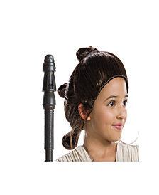 Star Wars Girls Rey Wig- Girls