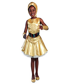 Classic Star Wars C-3Po Dress Girls Costume