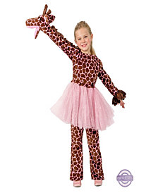 Playful Puppet Giraffe Girls Costume