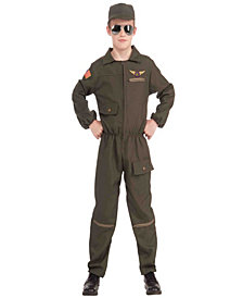 Fighter Jet Pilot Boys Costume