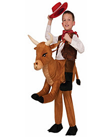 Ride a Bull Boys Costume