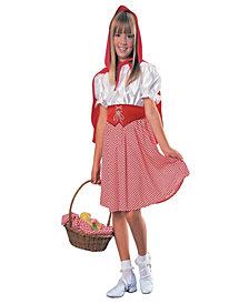 Red Riding Hood Classic Girls Costume