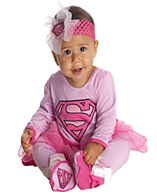 Supergirl Baby Girls Costume
