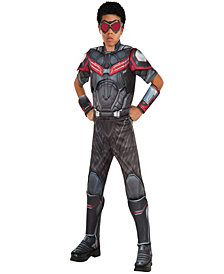 Marvels Captain America: Civil War Deluxe Muscle Chest Falcon Boys Costume