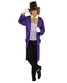 Willy Wonka & the Chocolate Factory: Willy Wonka Classic Boys Costume