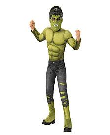 Marvel Avengers Infinity War Hulk Deluxe Boys Costume