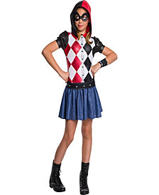 Dc Super Hero Harley Quinn Hoodie Girls Dress