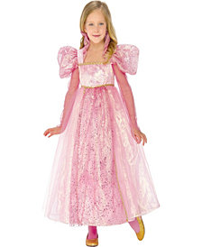 Glitter Princess Girls Costume