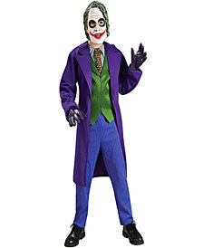 Batman Dark Knight Deluxe The Joker Boys Costume