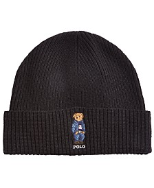 Polo Ralph Lauren Men's Polo Bear Blue Jean Jacket Cuffed Hat