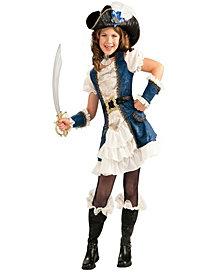 Blue Pirate Girl Costume
