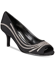 Caparros Oz Peep-Toe Evening Pumps