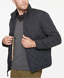 Marc New York Men's Fillmore Quilted Sherpa Fleece-Lined Jacket