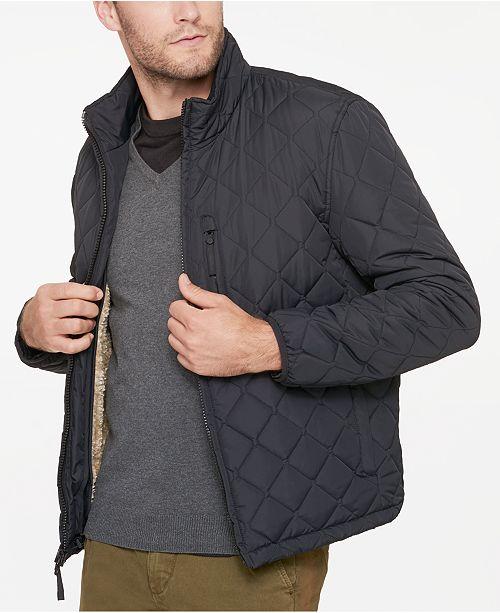b9e58efe8 Men's Fillmore Quilted Sherpa Fleece-Lined Jacket
