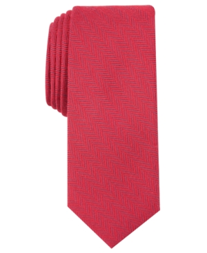 1960s – 70s Men's Ties   Skinny Ties, Slim Ties Bar Iii Mens New Herringbone Skinny Tie Created for Macys $55.00 AT vintagedancer.com